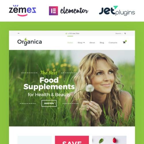 Organica  - Responsive WooCommerce Template
