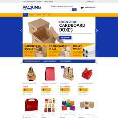 Packaging templates packaging web templates packing responsive virtuemart template pronofoot35fo Choice Image