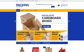 Packing VirtueMart Template