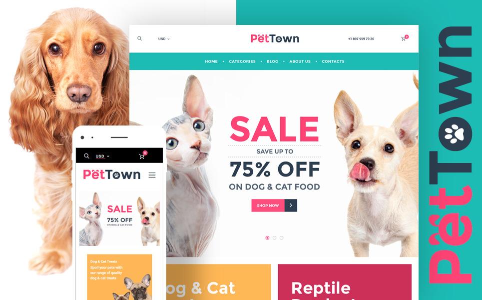 PetTown Pet Store WooCommerce Theme New Screenshots BIG
