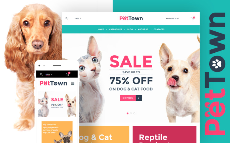 PetTown Pet Store WooCommerce Theme New Screenshots BIG