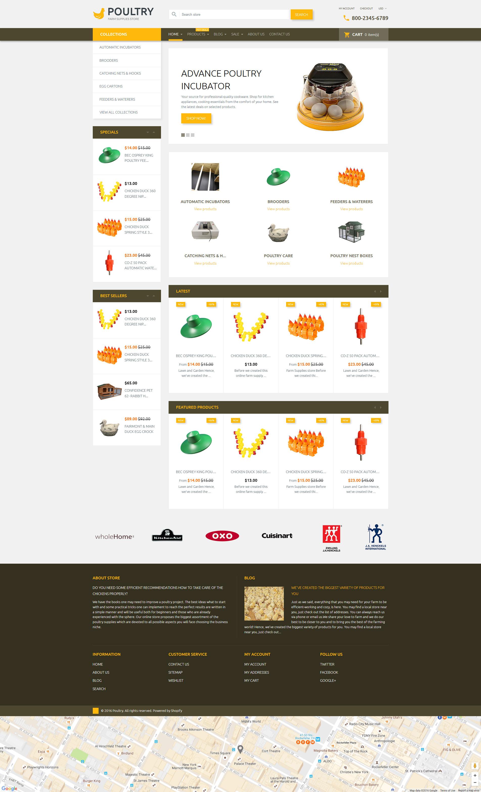 Poultry Shopify Theme
