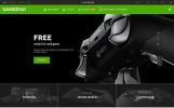 Responsive PrestaShop Thema over Game portal