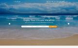 Responsive Seyahat Firması  Web Sitesi Şablonu