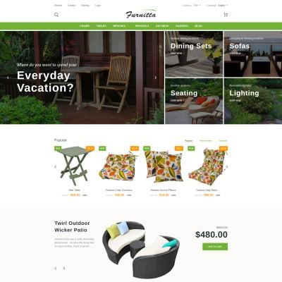 Furniture Responsive PrestaShop Sablon