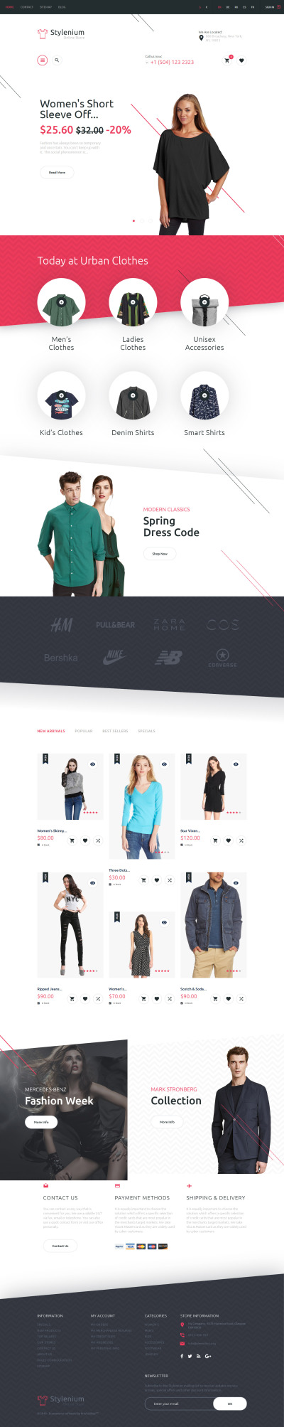 Fashion Store Responsive PrestaShop Sablon