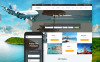 Reszponzív Utazási iroda témakörű  Weboldal sablon New Screenshots BIG