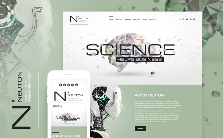 Science Lab Responsive WordPress Theme New Screenshots BIG