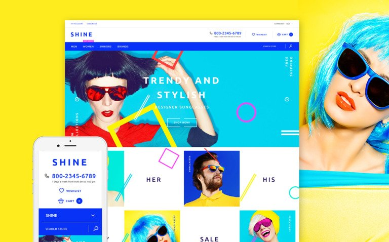 Shine Shopify Theme New Screenshots BIG