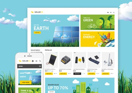 solar energy products  theme