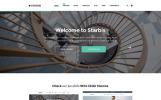 Starbis - egy többcélú Weboldal sablon a különböző üzletek számára