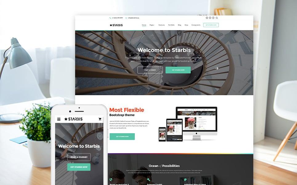 Starbis - универсальный HTML шаблон для бизнес сайта