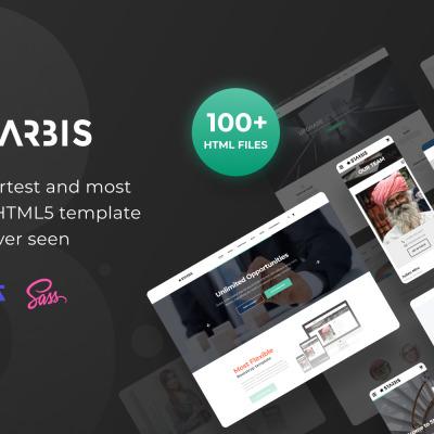 Starbis - Template Bootstrap 4 multifunzione per le aziende #60047