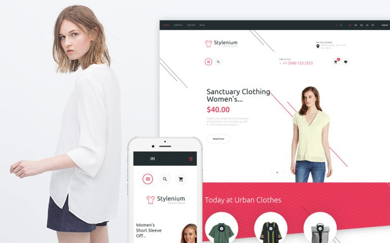 Stylenium - Fashion Store PrestaShop Theme New Screenshots BIG