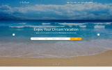 """Sun Travel - Travel Agency Online"" Responsive Website template"