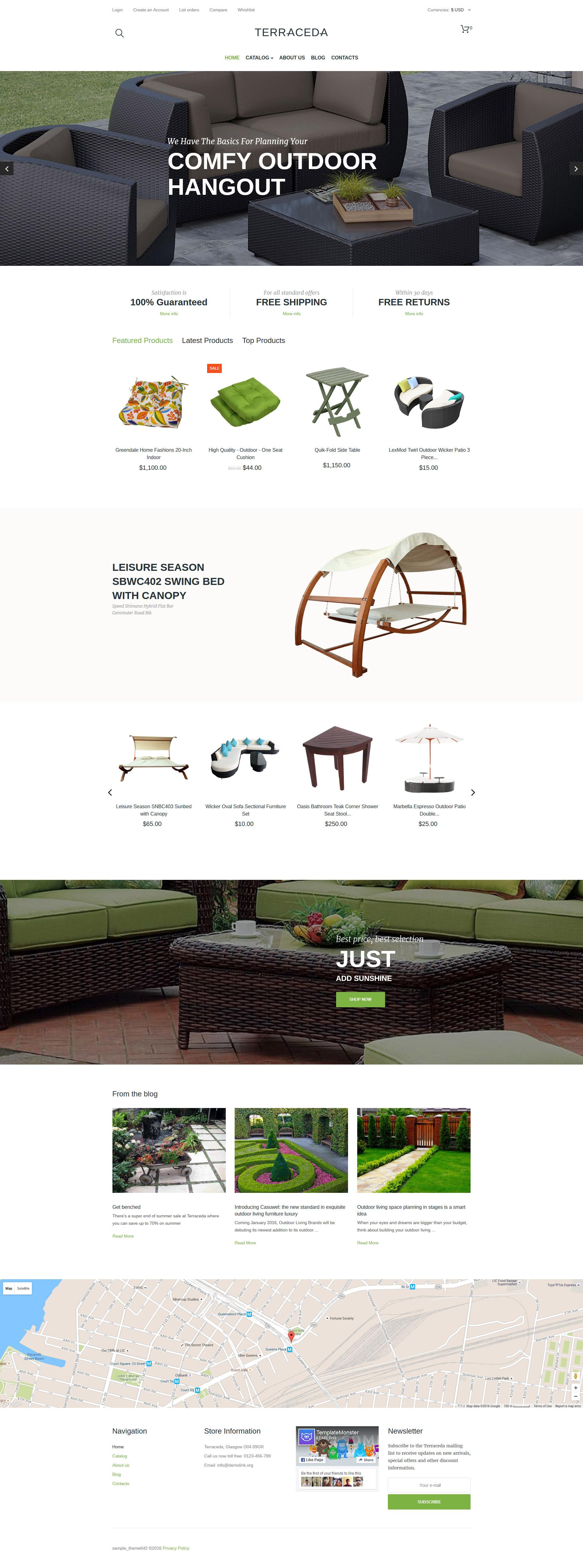Szablon VirtueMart Terraceda #60000 - zrzut ekranu