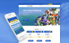 Tema Joomla Responsive #60099 per Un Sito di Giochi New Screenshots BIG