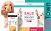 "Template WooCommerce Responsive #60094 ""PetTown Pet Store"" New Screenshots BIG"