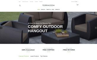 Terraceda VirtueMart Template