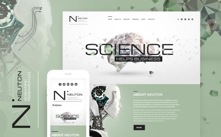 UFO Responsive WordPress Theme New Screenshots BIG