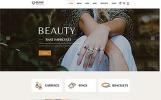 "Website Vorlage namens ""Olimp - Luxury Jewelry Online Store Multipage HTML"""