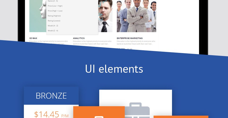 Career Education Responsive OpenCart Template