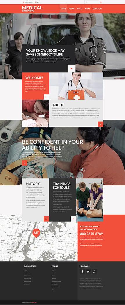 Joomla Theme/Template 60105 Main Page Screenshot