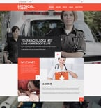 Medical Joomla  Template 60105