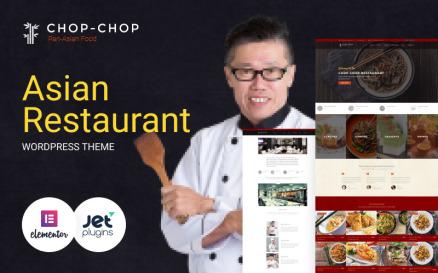 Chop-Chop - Asian Restaurant WordPress Theme