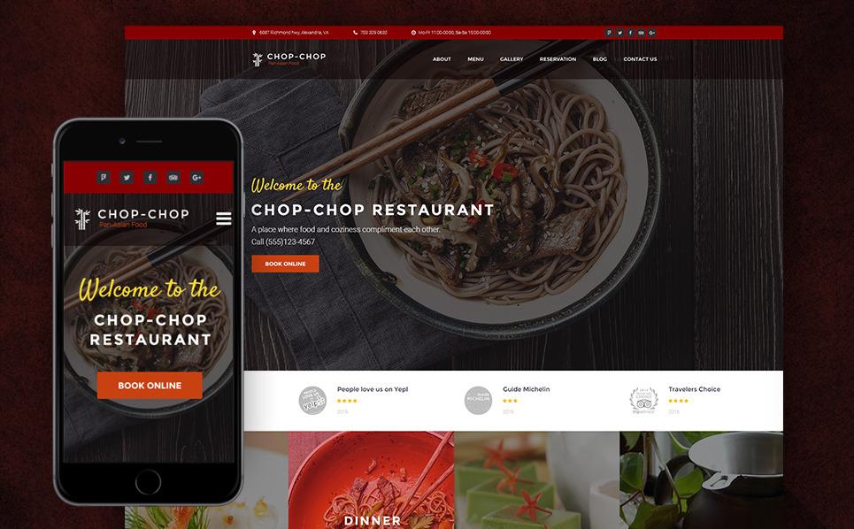 Responzivní WordPress motiv na téma Asijská Restaurace New Screenshots BIG