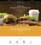Cafe & Restaurant WordPress Template 60109