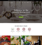 Cafe & Restaurant WordPress Template 60111