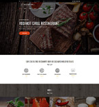 Cafe & Restaurant WordPress Template 60112