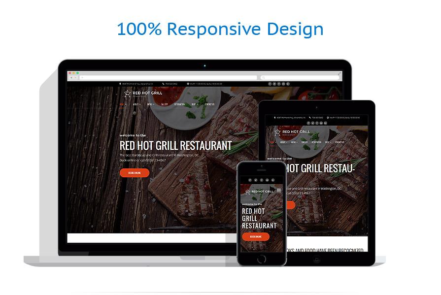 Thèmes WordPress Café et Restaurant #60112