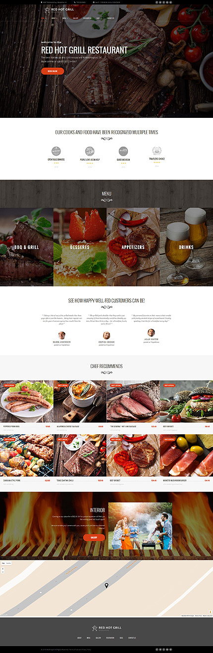 WordPress Theme/Template 60112 Main Page Screenshot