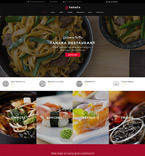 Cafe & Restaurant WordPress Template 60113