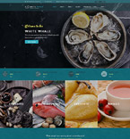 Cafe & Restaurant WordPress Template 60114