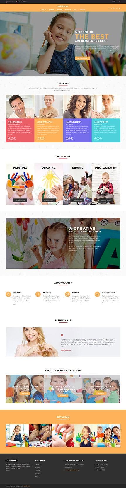 WordPress Theme/Template 60116 Main Page Screenshot