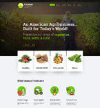 Agriculture WordPress Template 60117