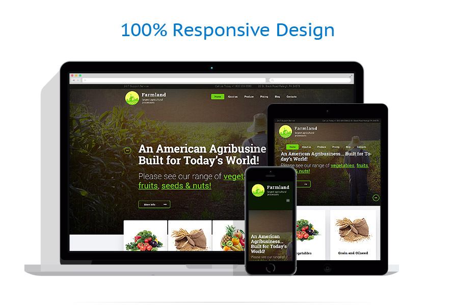 Thèmes WordPress Agriculture #60117