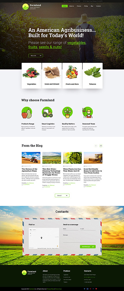 ADOBE Photoshop Template 60117 Home Page Screenshot