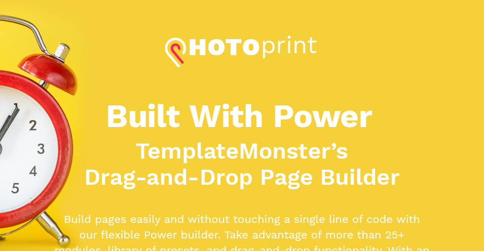 PhotoPrint - Print Shop Responsive WordPress Theme