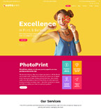 Art & Photography WordPress Template 60122