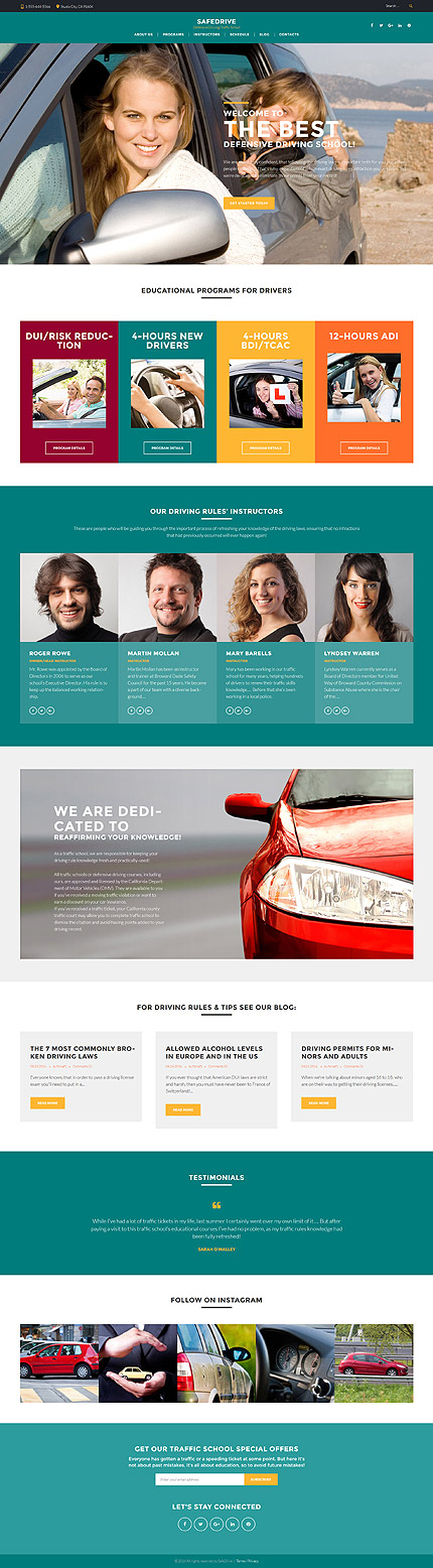 WordPress Theme/Template 60127 Main Page Screenshot