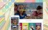 Responsivt WordPress-tema för förskola New Screenshots BIG