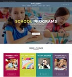 Education WordPress Template 60129