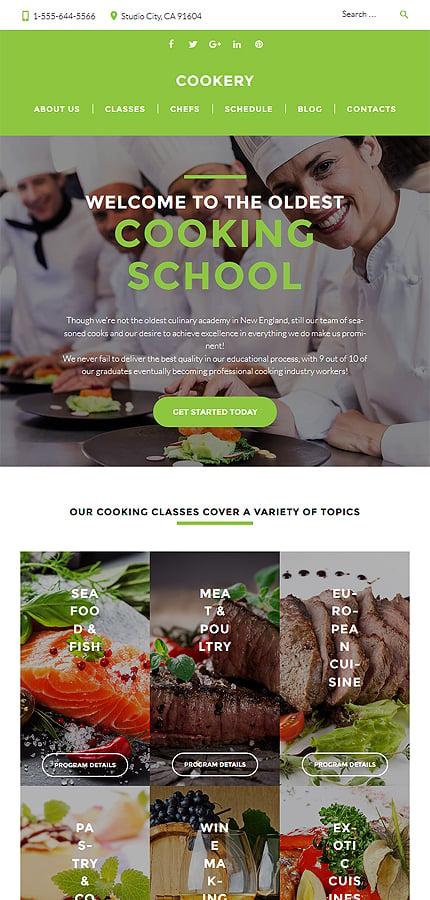 WordPress Theme/Template 60130 Main Page Screenshot