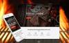 Адаптивний WordPress шаблон на тему bbq ресторан New Screenshots BIG