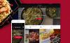 Адаптивный WordPress шаблон №60113 на тему японский ресторан New Screenshots BIG