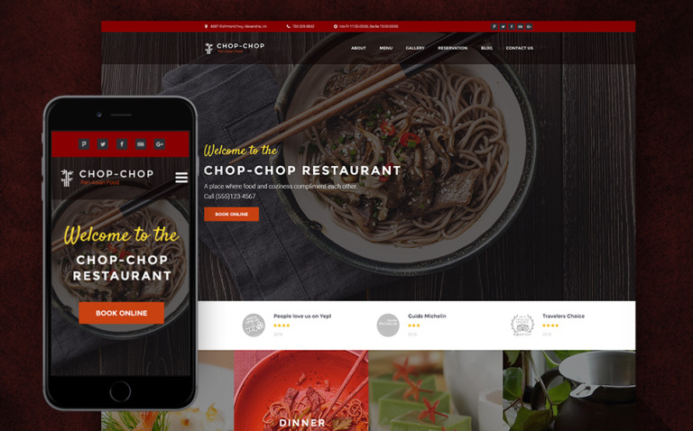 Chop-Chop - Asian Restaurant WordPress Theme New Screenshots BIG